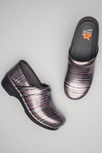 Pro XP Grey Striped Patent