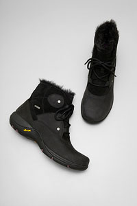 Candice Black Milled Nubuck