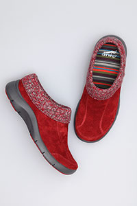 Eartha Red Suede