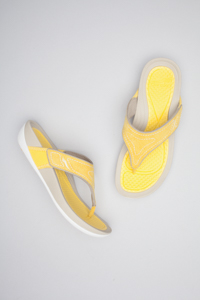 Katy Yellow Suede