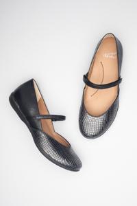 Nanette Black Croc