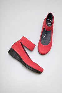 LuLu Red Nubuck