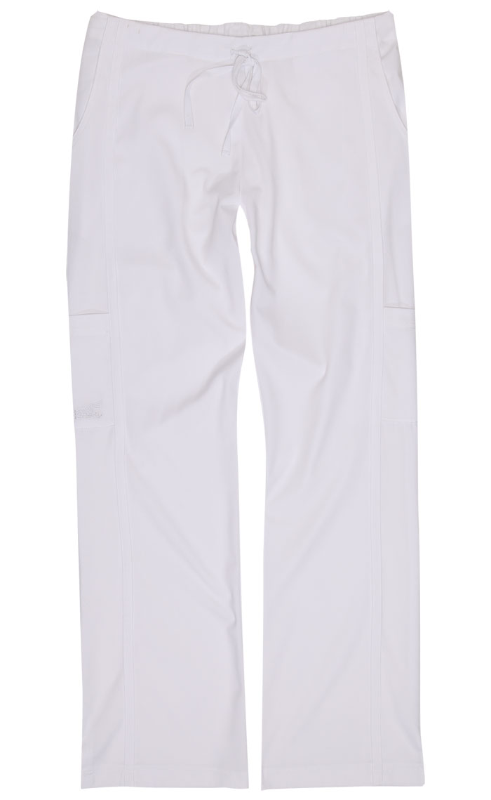 Gina White Stretch Woven Tall