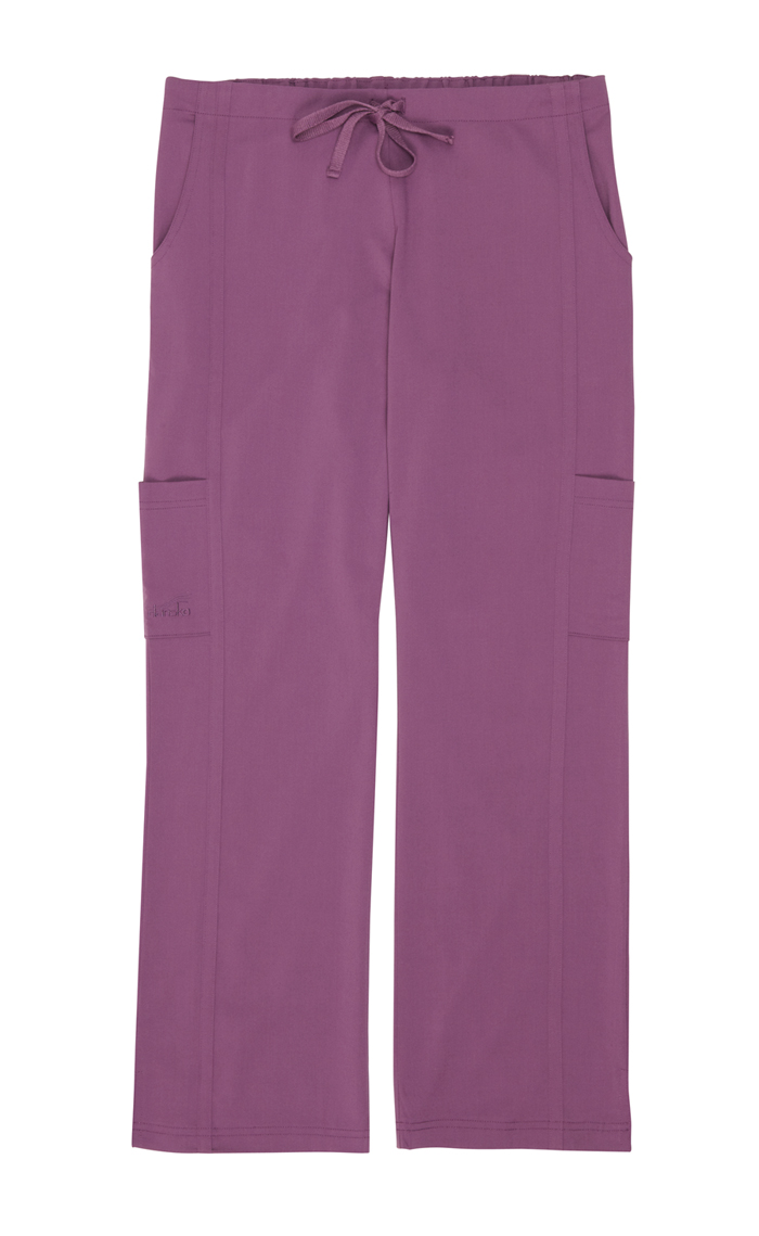 Gina Purple Stretch Woven Tall