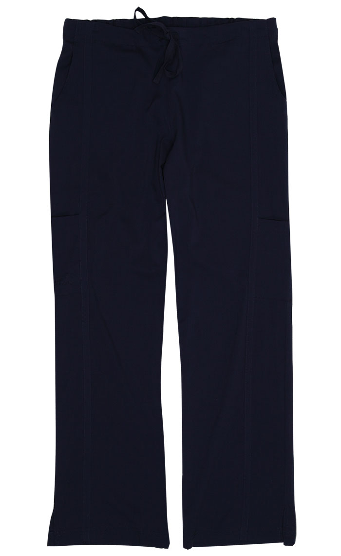 Gina Navy Stretch Woven Tall