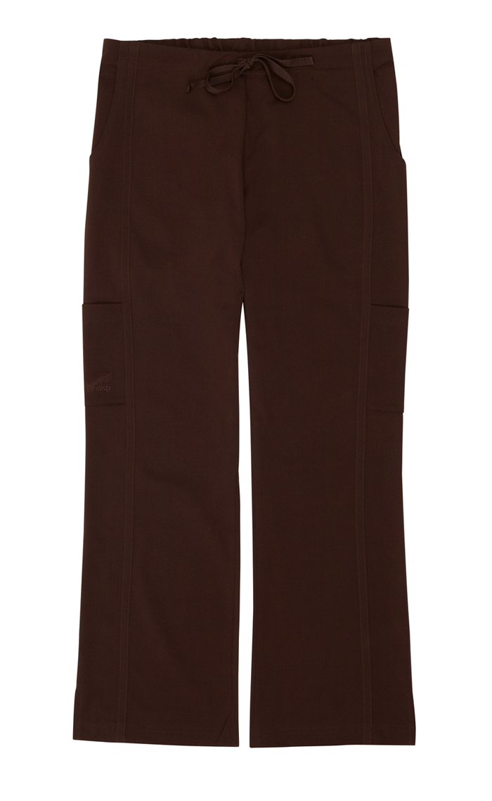 Gina Chocolate Stretch Woven Tall