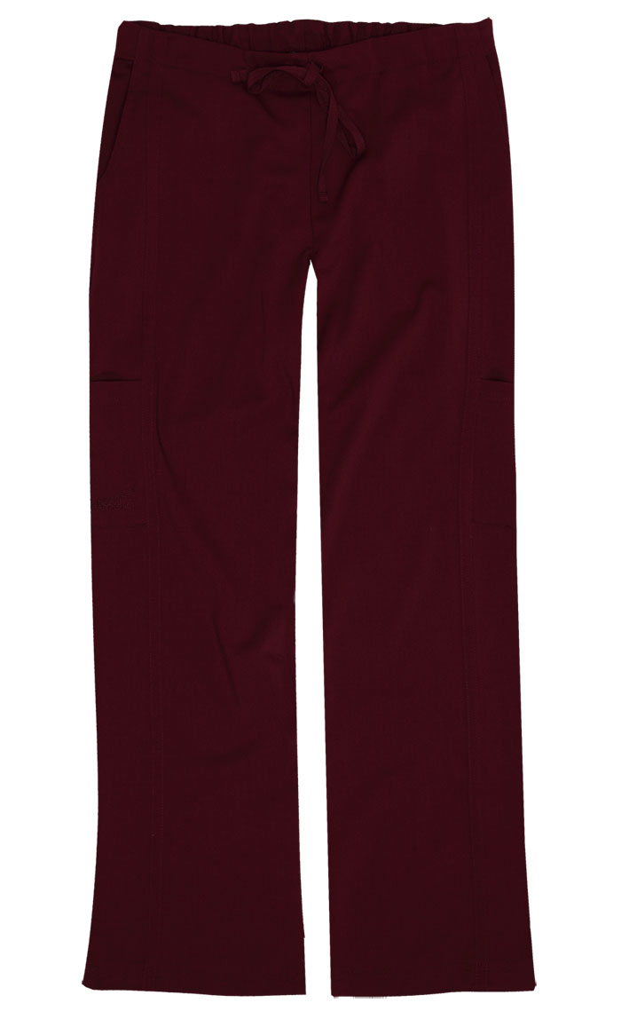 Gina Wine Stretch Woven Tall