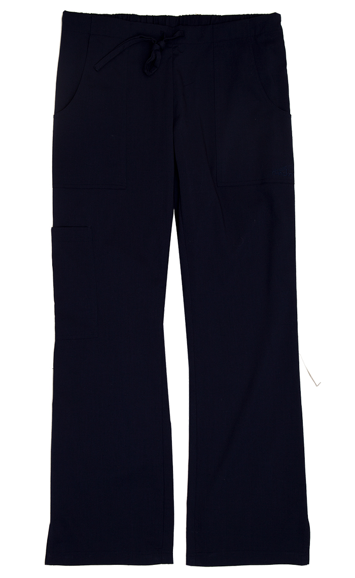 Gigi Navy Stretch Woven Tall