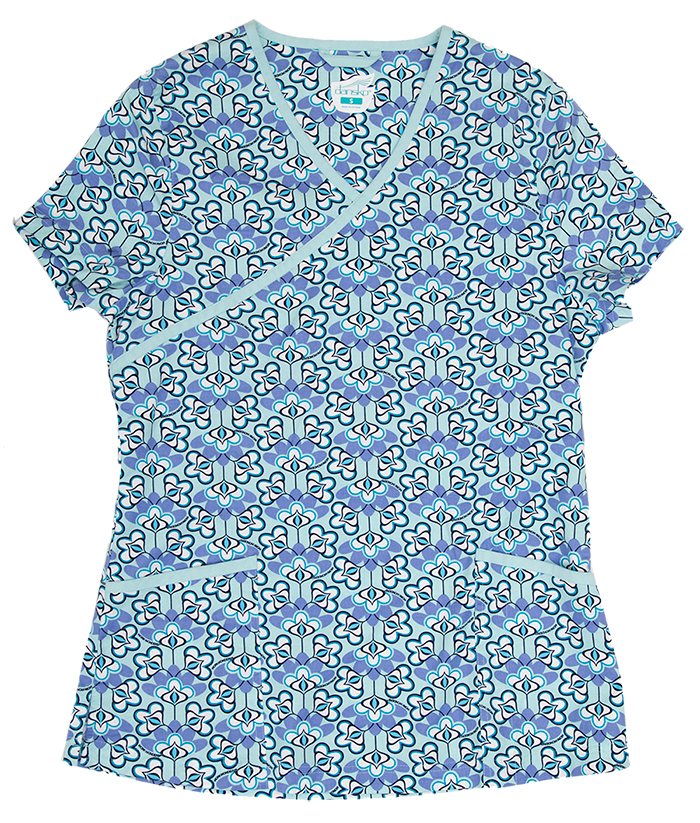 Gwen Seafoam Dutch Floral Print Cotton