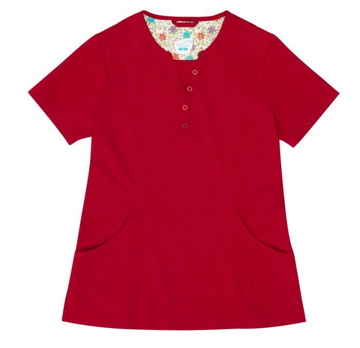 Gilda Red Stretch Woven