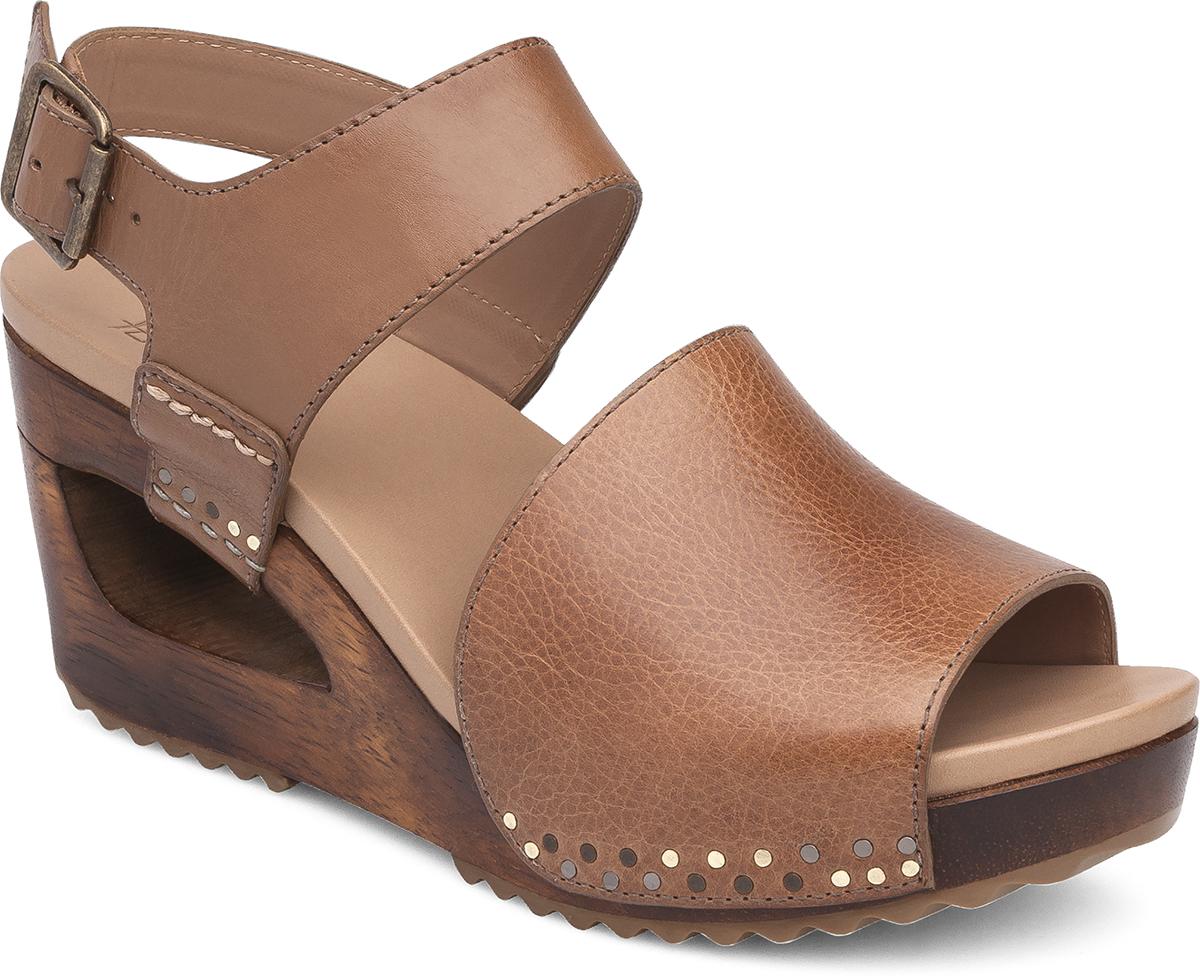 Black dansko sandals - Shona Tan Tumbled Calf