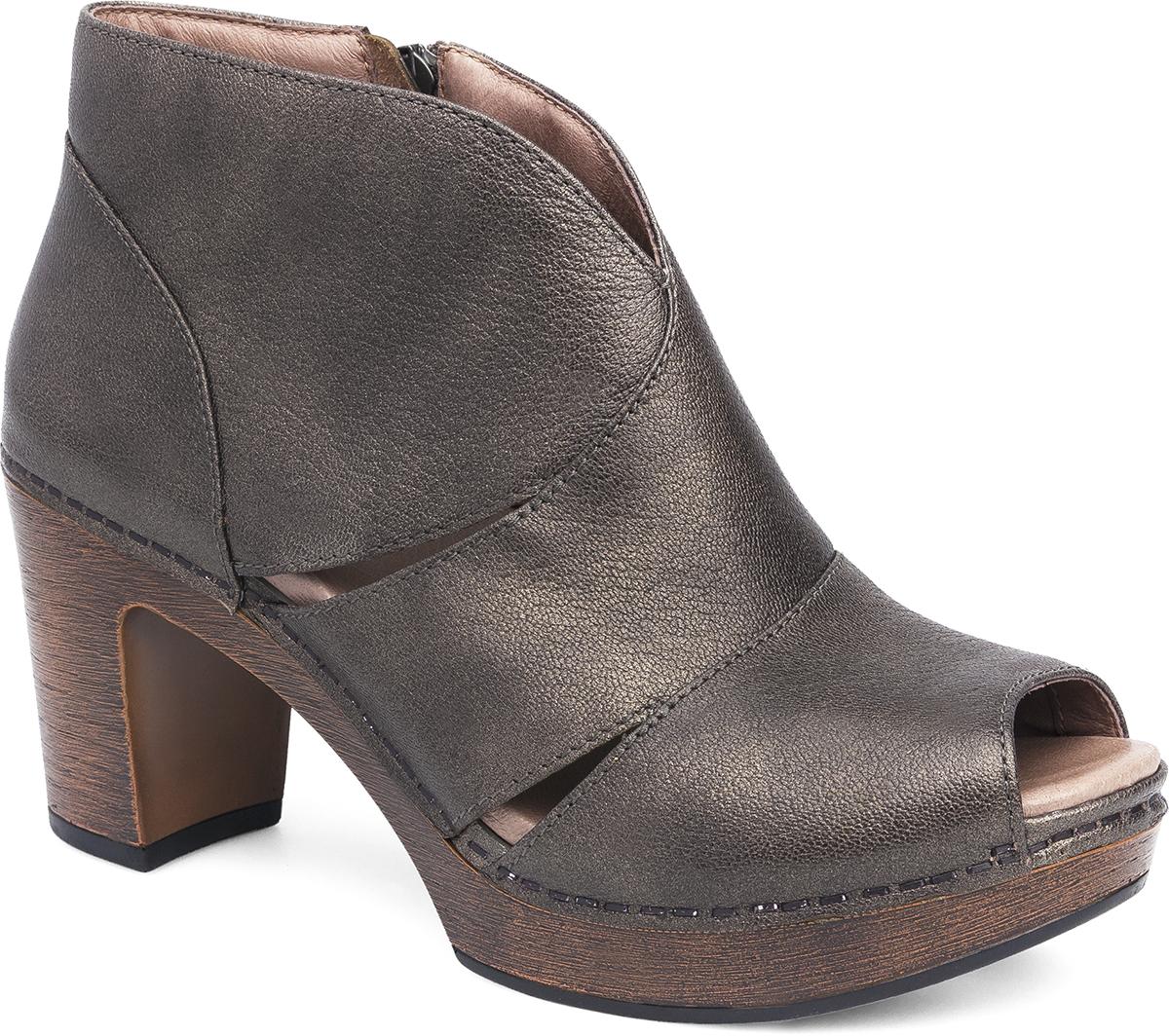 Delphina Aged Bronze Metallic - Dansko® Women's Ankle Boots & Booties Dansko.com