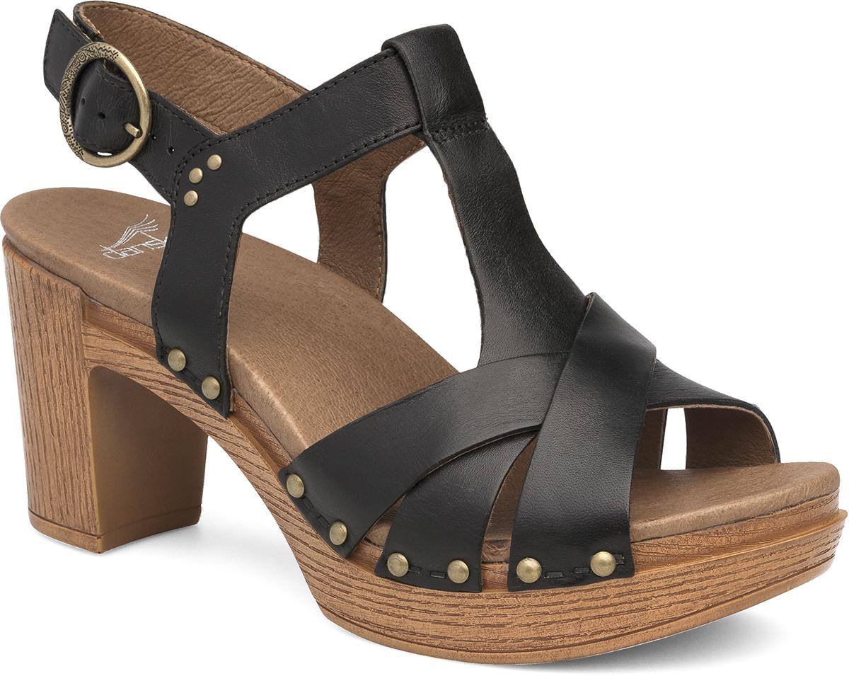 Black dansko sandals - Daniela Black Full Grain