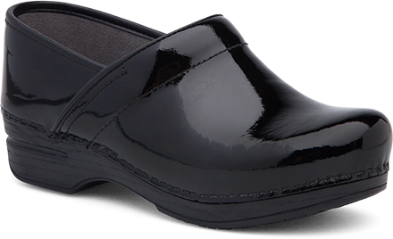 WomensPro XPClogs  inBlackPatentLeather