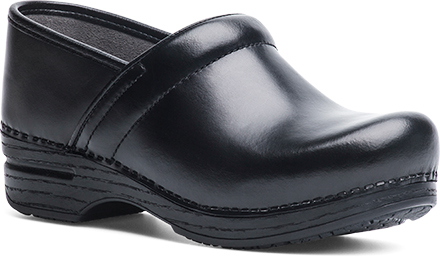 WomensWide Pro XPClogs  inBlackCabrioLeather