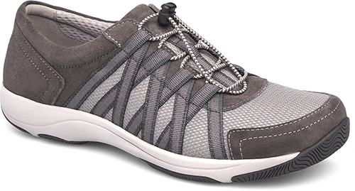 WomensHonorSneakers  inCharcoalSuedeLeather