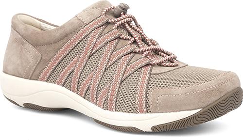 WomensHonorSneakers  inWalnutSuedeLeather