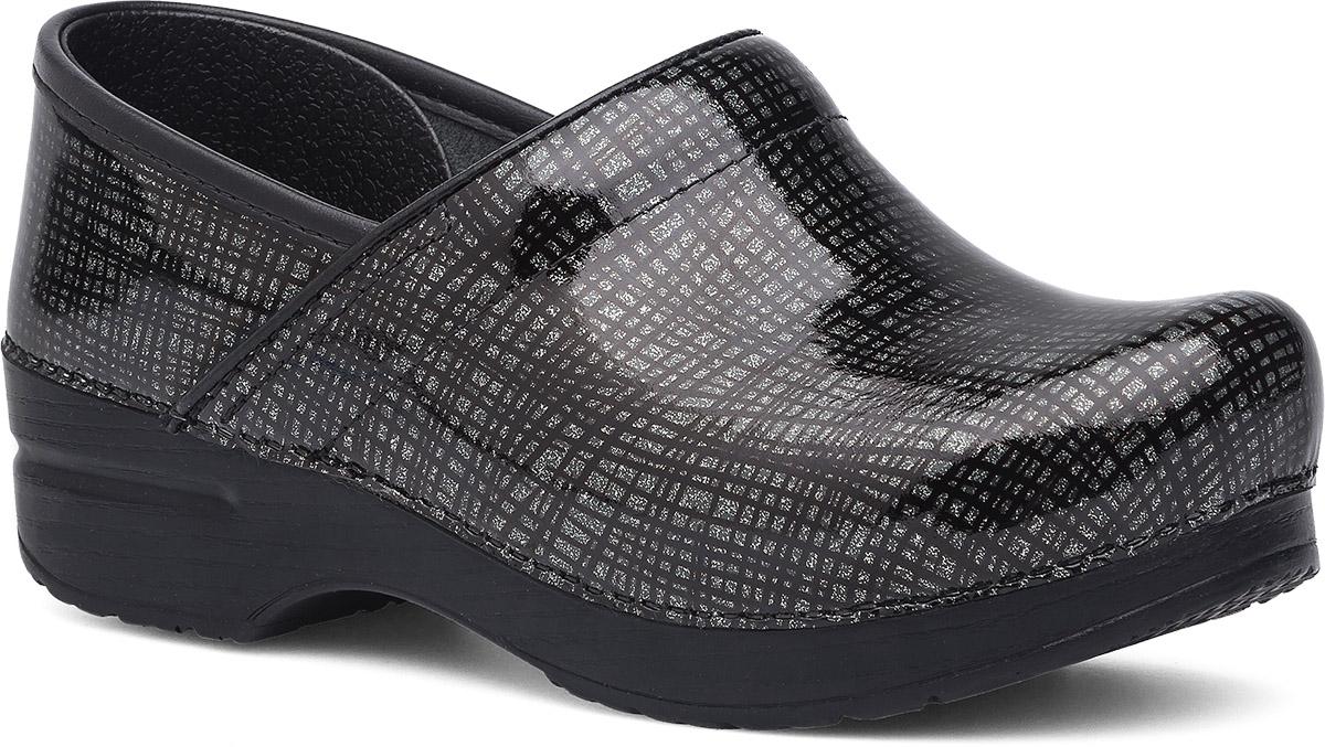 Black dansko sandals - Professional Silver Black Crisscross