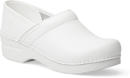 Womens Narrow Pro Clogs In White
