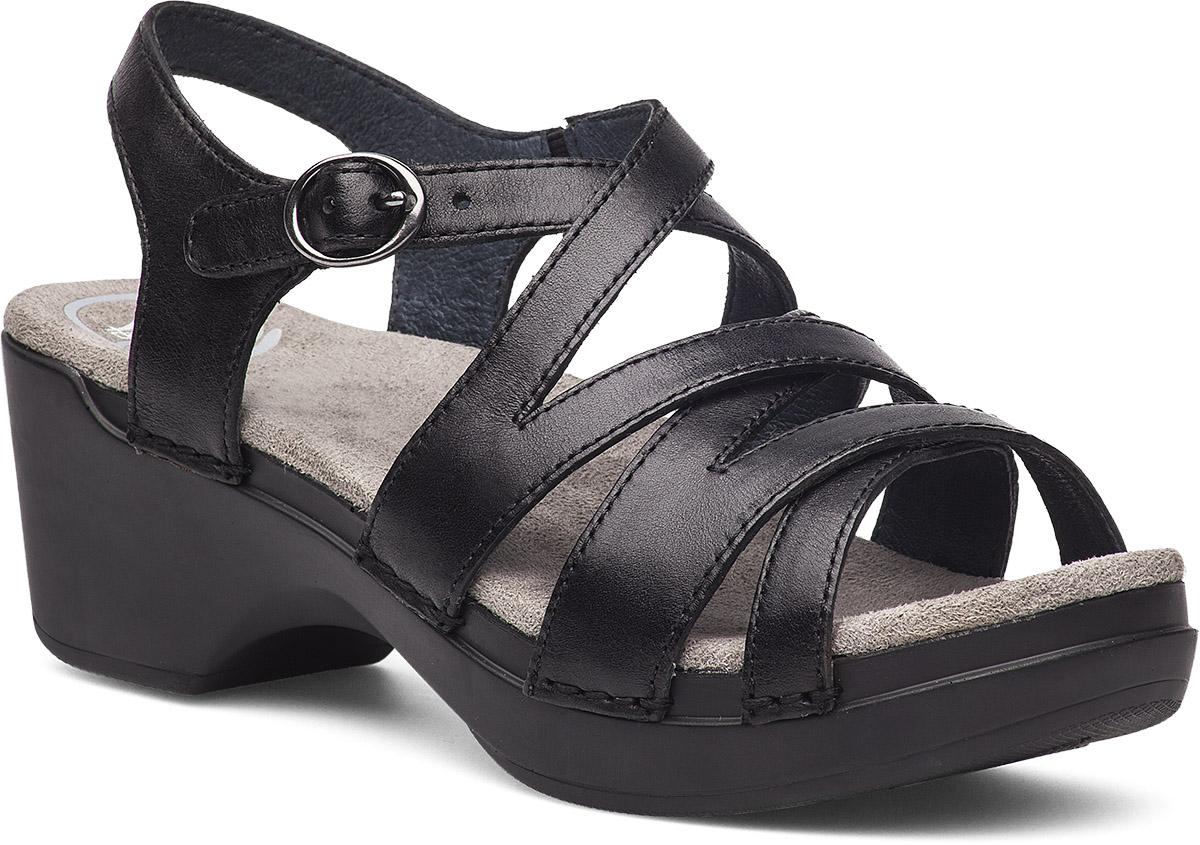 Black dansko sandals - Stevie Black Full Grain
