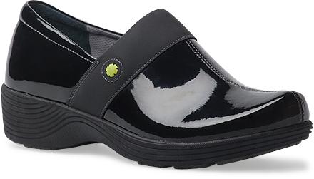 WomensCamelliaSneakers  inBlackPatentLeather