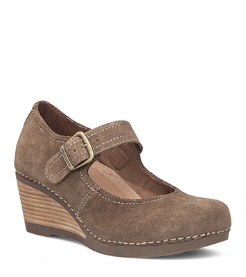 Sandra Taupe Suede from the Salinas