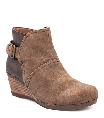 Shirley Taupe Suede from the Salinas