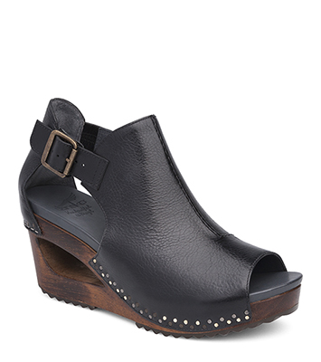 Sable Black Tumbled Calf from the Santos