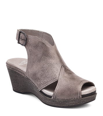 4c8bdb0fc139 The Dansko Stone Distressed from the Vanda collection.
