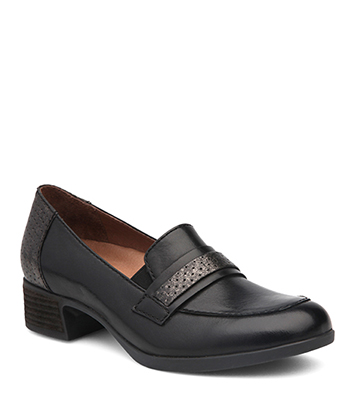 Lila Black Antiqued Calf from the Larose