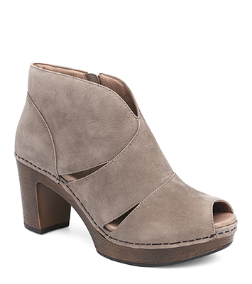 Delphina Taupe Milled Nubuck from the Darby