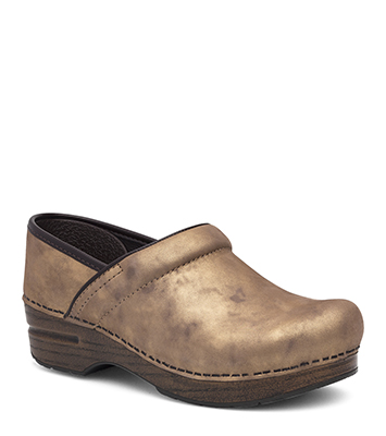 948e0f9a The Dansko Bronze Metallic from the Professional collection.