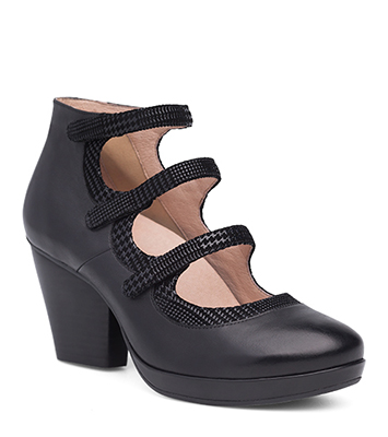 Marlene Black Burnished Calf from the Marbella