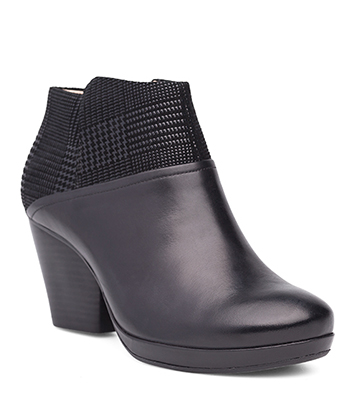 Miley Black Burnished Calf from the Marbella