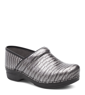 Pro XP Grey Herringbone Patent from the XP Clog