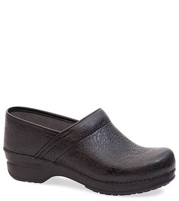 Pro XP Black Floral Tooled from the XP Clog