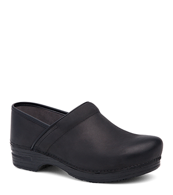 Pro XP (Men) Black Burnished Nubuck from the XP Clog