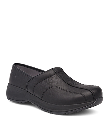 Shaina Black Tumbled Pull Up from the Sport Clog