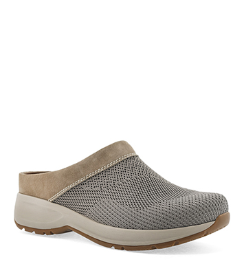 Sondra Taupe Suede from the Sport Clog