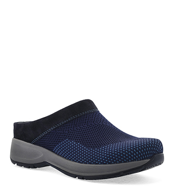 Sondra Navy Suede from the Sport Clog