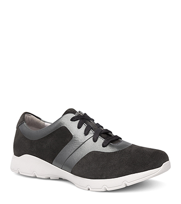 Andi Charcoal/Pewter Suede from the Alberta