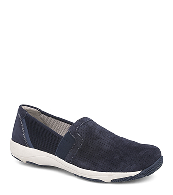 Halle Navy Suede from the Halifax