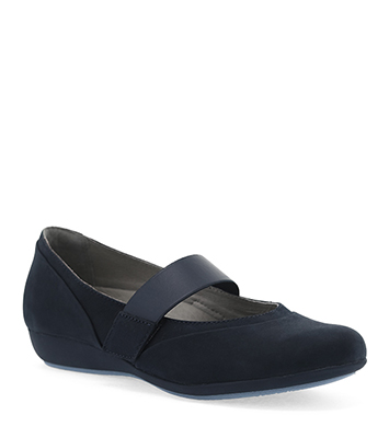 Kendra Navy Milled Nubuck from the Kenley