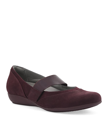 Kendra Wine Milled Nubuck from the Kenley