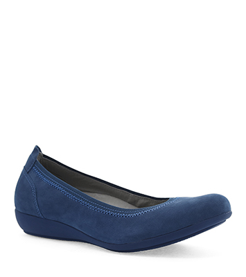 Kristen Blue Milled Nubuck from the Kenley