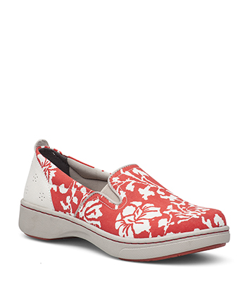 Belle Coral Floral Canvas from the Bayview