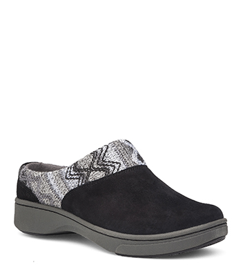 Brittany Black Suede from the Bayview