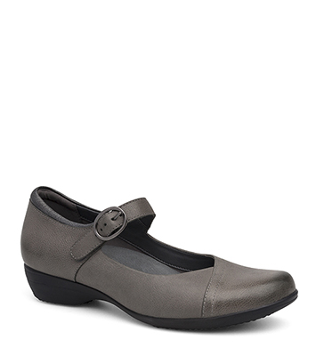 Fawna Grey Burnished Nappa from the Fayette