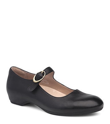 Linette Black Milled Nappa from the Lillie