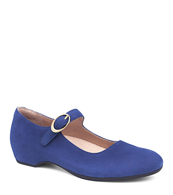 Linette Blue Nubuck from the Lillie